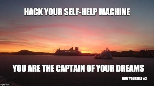 You are the captain of your dreams
