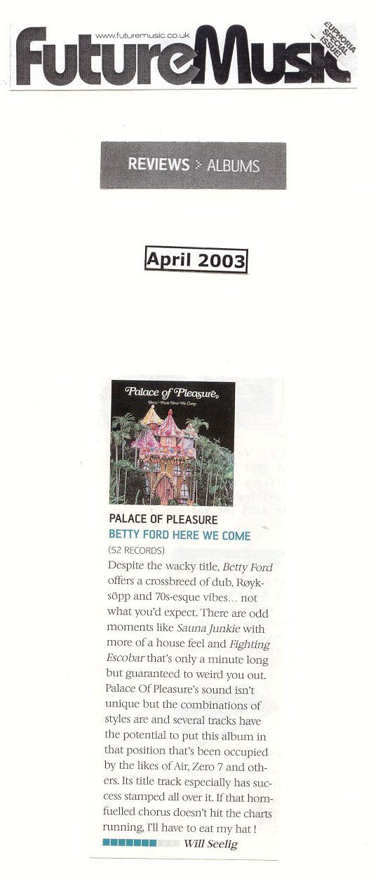 Review-Betty Ford Here We Come